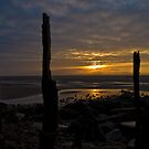 Pembrey Harbour Sunrise by Stephen Peters