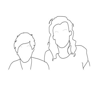 Larry Stylinson Silhouette by Itzmiri