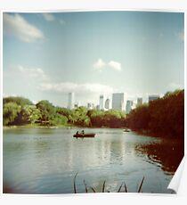 Central Park NYC - Holga Poster