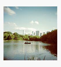 Central Park NYC - Holga Photographic Print
