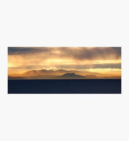 The Misty Hils Photographic Print
