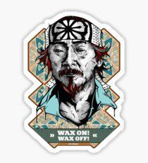 Mr. Miyagi Sticker