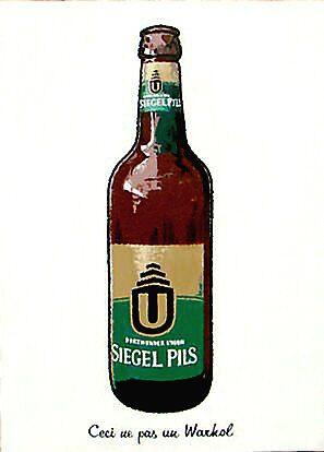 Beer Bottle (Ceci ne pas un Warhol) by Franko Camue