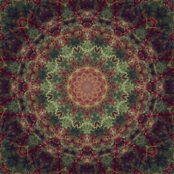Mandala green by JBJart