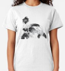 Emu Black and White Classic T-Shirt