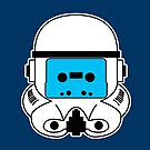 Cassette Trooper - Blue by cudatron