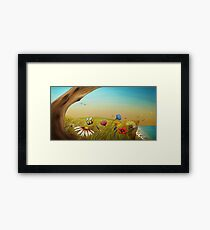 """""""The Earth Laughs In Flowers"""" Framed Print"""