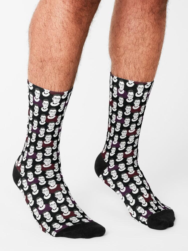 Alternate view of Ruth Bader Ginsburg Pattern Socks