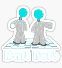 daft bulb (inspired from Tron Legacy movie) Sticker