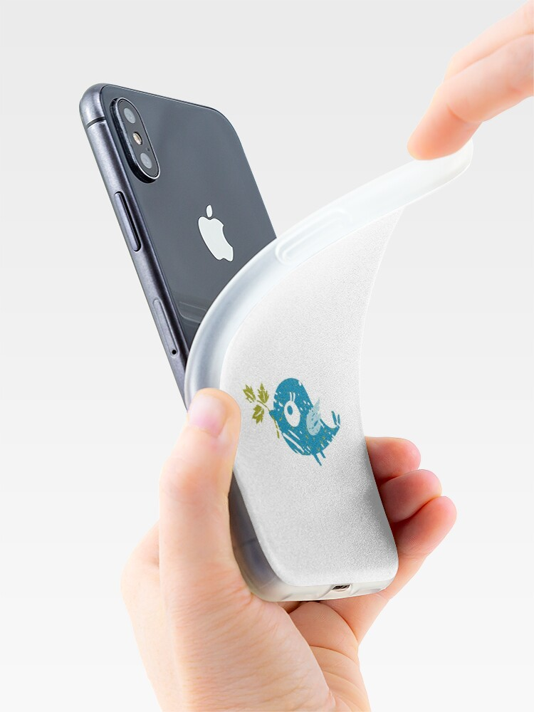 Alternate view of Blue Bird iPhone Case & Cover