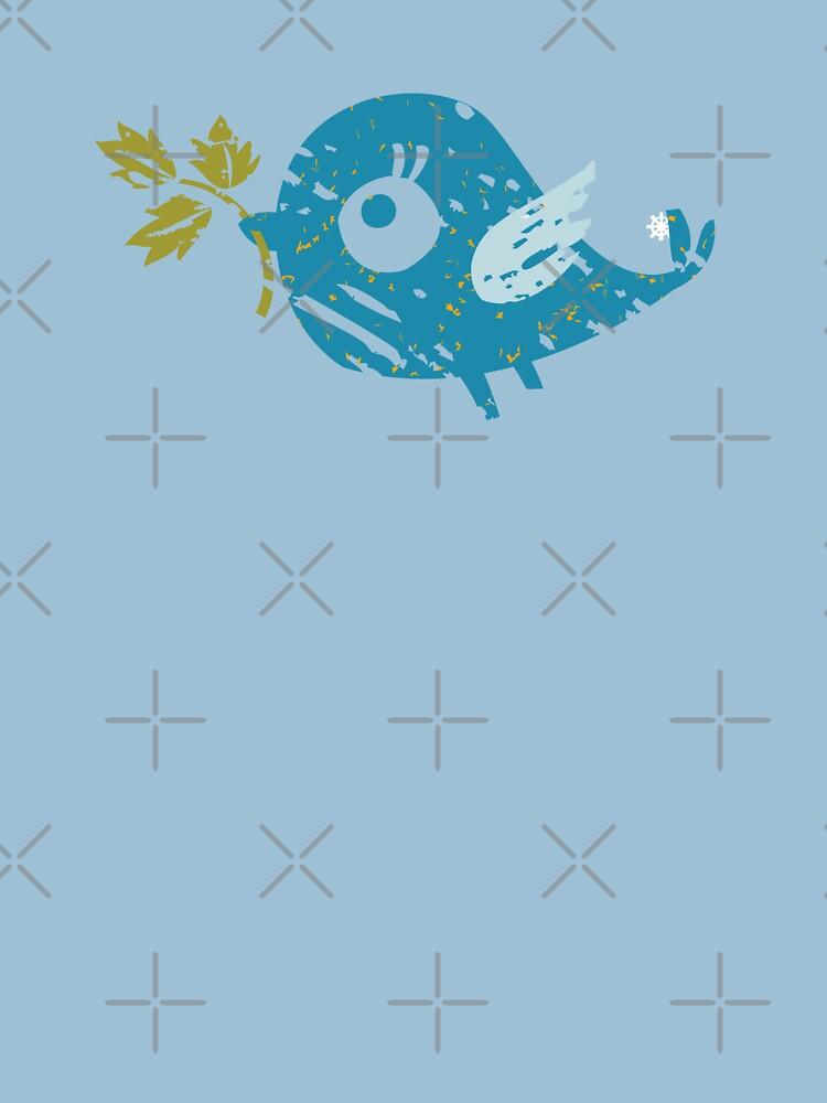 Blue Bird by rusanovska