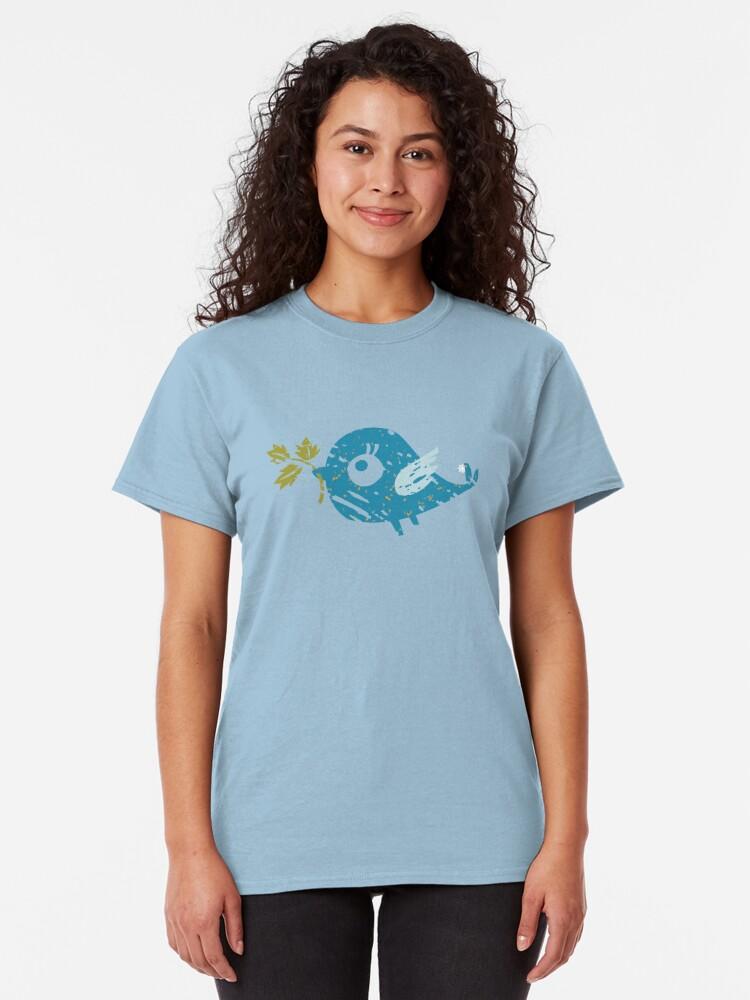 Alternate view of Blue Bird Classic T-Shirt
