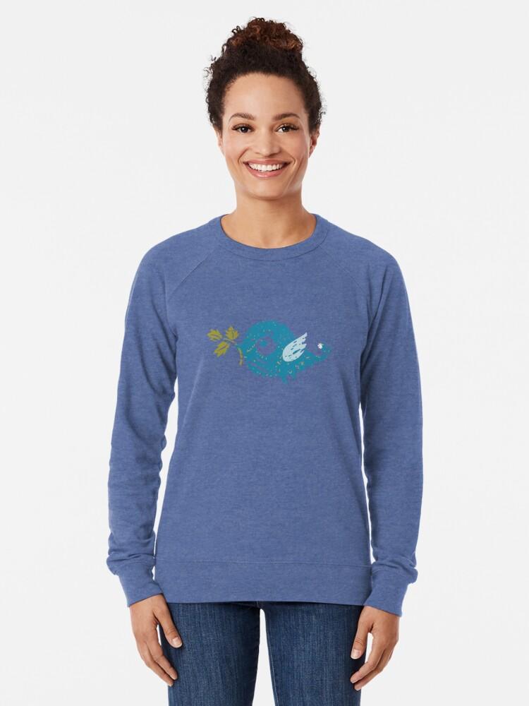 Alternate view of Blue Bird Lightweight Sweatshirt