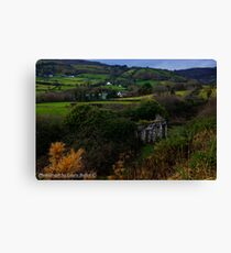 The Glen at Carnlough, County Antrim Canvas Print