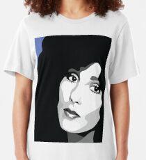 Cher Portrait Slim Fit T-Shirt