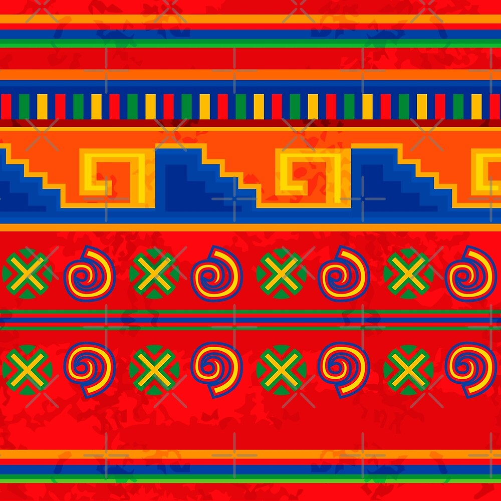 Mexican pattern by rusanovska