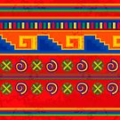 Mexican pattern by rusanovska
