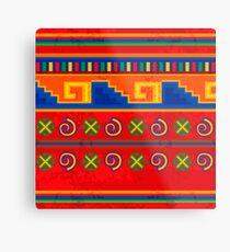 Mexican pattern Metal Print
