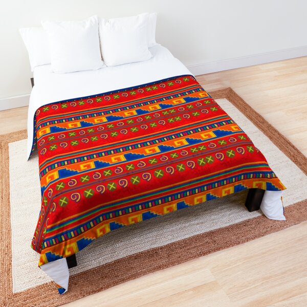 Mexican pattern Comforter