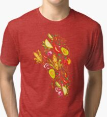 Mexican Salad Tri-blend T-Shirt