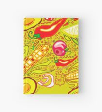 Mexican Salad Hardcover Journal