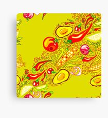 Mexican Salad Canvas Print