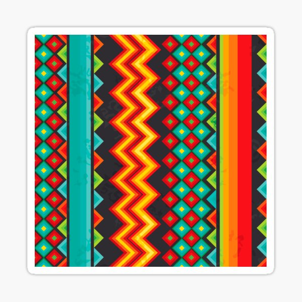 Mexican Mood Glossy Sticker