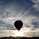 Morning Balloon Ride by Micah Sampson