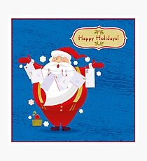 Happy Holidays! Photographic Print