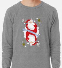 Santa. Ho-Ho-Ho! Lightweight Sweatshirt