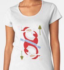 Santa. Ho-Ho-Ho! Premium Scoop T-Shirt