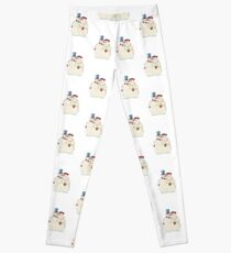Snowmen Love Leggings