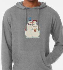Snowmen Love Lightweight Hoodie