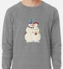 Snowmen Love Lightweight Sweatshirt