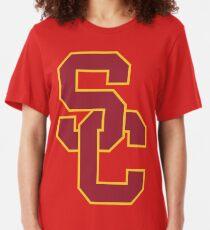 Camiseta ajustada Los troyanos de la USC