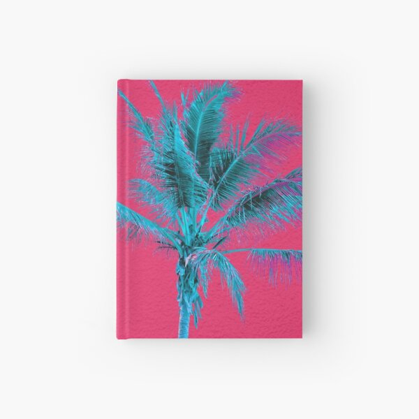 Neon Palms Hardcover Journal