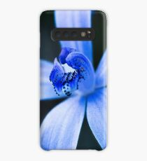 Silky Blue Orchid Case/Skin for Samsung Galaxy