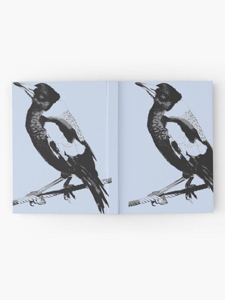 Alternate view of Magpie Black and White Hardcover Journal