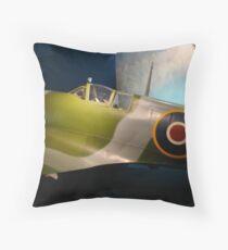 British Spitfire Throw Pillow