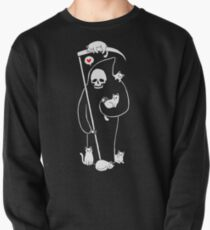 Death Is A Cat Person Pullover