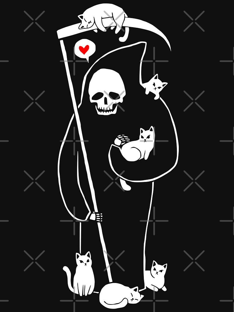 Death Is A Cat Person by obinsun
