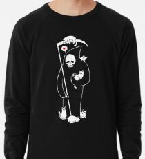 Der Tod ist eine Katze Person Leichter Pullover