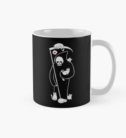 Death Is A Cat Person Mug