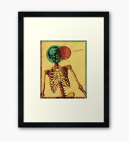 Word: Ezekiel Framed Print