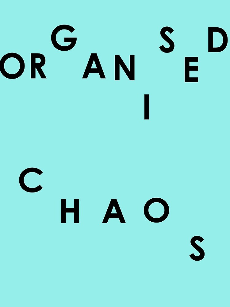 Organised Chaos - Drawstring Bag by embourne