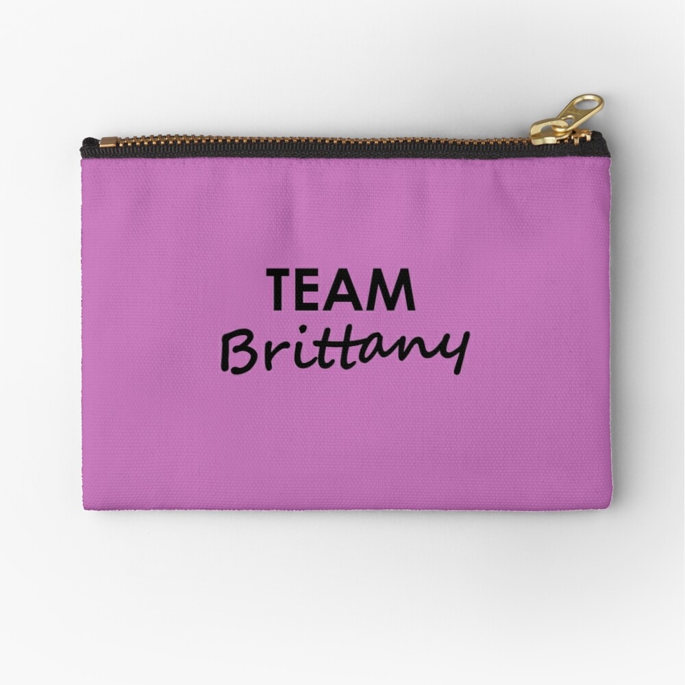 Team Brittany - Stationery Zipper Pouch