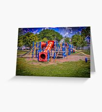 Emerson Playground Greeting Card