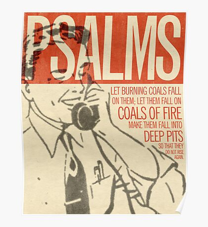 Word: Psalms 2 Poster