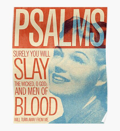 Word: Psalms 1 Poster
