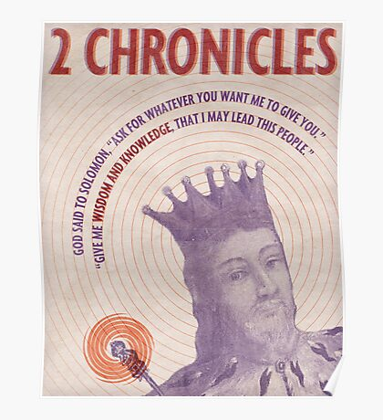 Word: 2 Chronicles Poster
